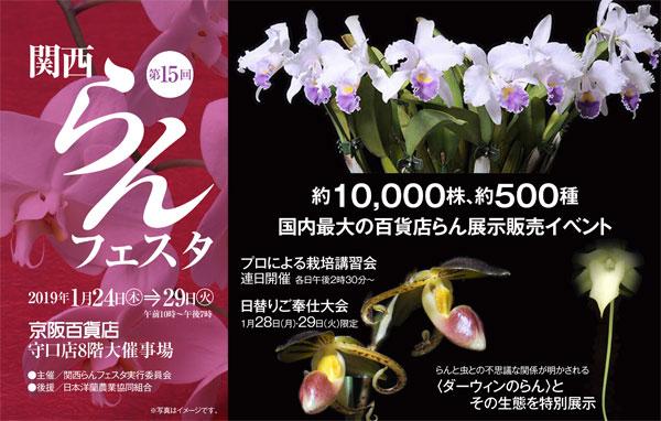 第15回 関西らんフェスタin京阪百貨店