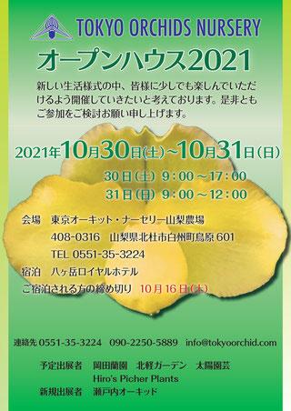 東京オーキットナーセリー オープンハウス2021